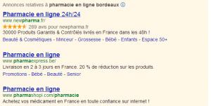 Une pharmacie en ligne sur Bordeaux?