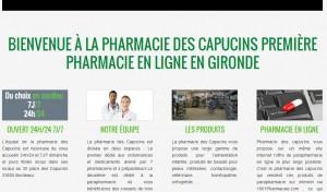 Première pharmacie en ligne de Gironde?